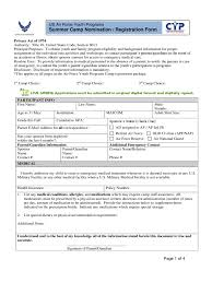 Registration Form Template Word Free Summer Camp Registration Form 2 Free Templates In Pdf Word Excel
