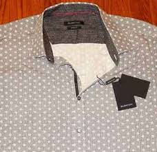 Bugatchi Size Chart Details About Bugatchi Uomo Mens Authentic Brand New Shaped Fit Dress Shirt Top Size Xxl Nwt