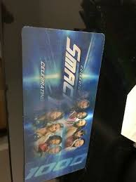 Collector ticket on värikäs, muoville painettu, luottokortin kokoinen keräilylippu, joka on kyseiseen tapahtumaan varta. Wwe Smackdown 1000 Commemorative 3d Collector Tickets Ebay