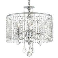 crystal and chrome chandelier 3 light polished chrome chandelier with crystal dangles nerisa chrome crystal flush