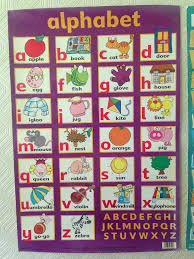 Learn To Read And Count Book Collection, Alphabet And Phonics Chart ...