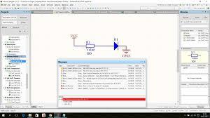 Simulation Models And Schematic Simulation Errors In Altium