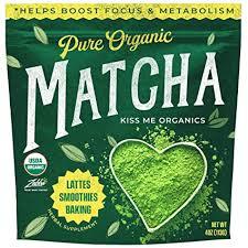Kiss Me Organics <b>Matcha Green Tea</b> Powder - Organic Japanese ...