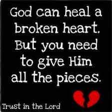 Quotes About Being Broken Hearted Enchanting God Can Heal A Broken Heart Pictures Photos And Images For