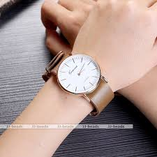 are rose gold watches in style for mens best watchess 2017 geneva pu leather og rose gold round case quartz wrist watch
