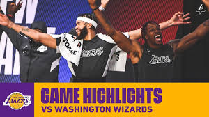 HIGHLIGHTS | Los Angeles Lakers vs Washington Wizards | Lakers vs,  Washington wizards, Los angeles lakers