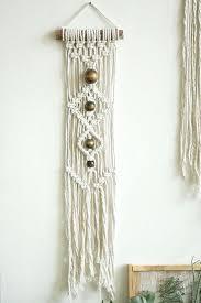 small wall hanging macrame hanging wall
