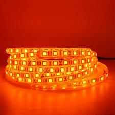 Red Led Rope Light 12v Us 1 13 33 Off Led Strip Light 600nm True Orange Smd 5050 3528 Strip Ribbon Diode Tape Rope Lights 12v 1m 2m 5m Flexible Strip String Lamp In Led