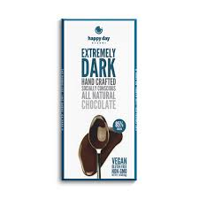 "HAPPY DAY CHOCOLATE BARS Tagged ""<b>Extreme Dark Chocolate</b> ..."
