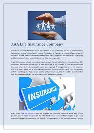 Aaa Term Life Insurance Ppt Aaa Life Insurance 3mbtech Com Powerpoint Presentation Id