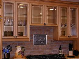 Glass Kitchen Cabinet Doors Lovely Etched Cabinets Shaker With