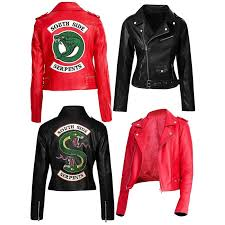 new 57 riverdale southside serpents faux leather jacket famous jackets