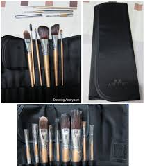 new amway artistry makeup brush set limited edition