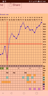 Thoughts On My Bbt Chart Maybe Pregnant Trying To