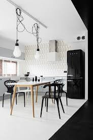 Kitchen Wall Mural Luxury Black And White Interior For Your Excellent Studio Interior
