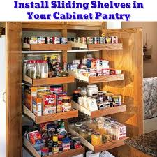 small cabinet pantry organization ideas diy pantry shelves getting organized 50 easy