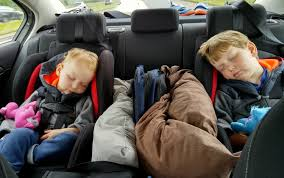 a car seat when you travel with kids