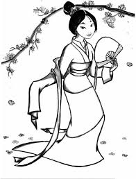 Small Picture Mulan Coloring Pages GetColoringPagescom