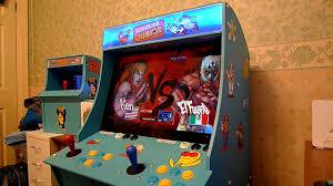 mini arcade machine street fighter 4 youtube