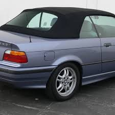 BMW 3 Series bmw 3 series convertible : BMW 3-Series Convertible Top | Black Twillfast & Plastic Window