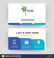 Kids Channel Business Card Design Template Visiting For Your