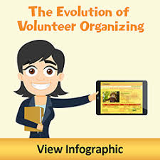 Ways to Better Your Community The Evolution of Volunteer Organizing  Click to view Infographic