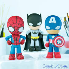 Superhero Cake Toppers Cake By Crumb Avenue Cakesdecor