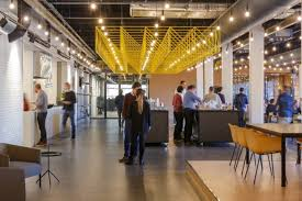 office coffee bar. The Start-up Company Ampelmann Has Grown Into A Mature, International Provider Of Safe Offshore Access Solutions. Wanting To Reflect Innovative And Office Coffee Bar