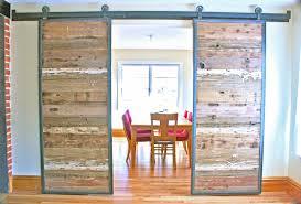 furniture rustic wood sliding barn door
