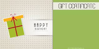 microsoft word birthday coupon template birthday gift certificate template 15 professional and high