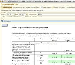 Управленческий учет цели и принципы системы Способы особенности  Анализ операционной деятельности на примере программного продукта wa Финансист