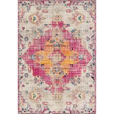 united weavers america abigail seraphina magenta 5 ft x 7 ft area rug
