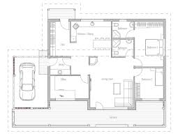 Small House Plan CH23 Detailed Building Info Floor Plans For House Plans Cost To Build