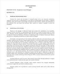 production controller job description sample copywriter job description