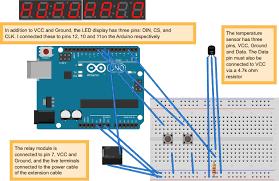 building a simple sous vide cooker using arduino acirc middot tristan s tech blog arduino wiring diagram
