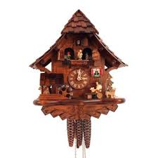 office large size floor clocks wayfair. Cuckoo Clock With Beer Drinker And Music Office Large Size Floor Clocks Wayfair