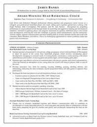 Resume For College Basketball Coach | Resume Examples Listing ... Resume For College Basketball Coach Sample Basketball Coach Resume Resumeindex