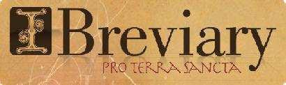 Image result for ibreviary pro terra sancta logo