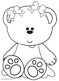 Cute Teddy Bear Coloring Pages Coloring Pages For Girls Cute Cute