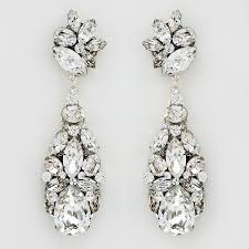 large crystal chandelier earrings
