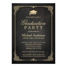Graduation Party Announcement High School Graduation Invitations Zazzle