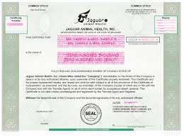 (jagx) stock quote, history, news and other vital information to help you with your stock trading and investing. Ex 4 1 2 A2221465zex 4 1 Htm Ex 4 1 Exhibit 4 1 This Certifies That Is The Owner Of Cusip Dated Countersigned And Registered Computershare Trust Company N A Transfer Agent And Registrar Fully Paid And Non