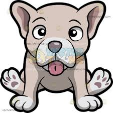 bulldog puppy clipart.  Bulldog A Pale But Cute Young French Bulldog Puppy Throughout Clipart
