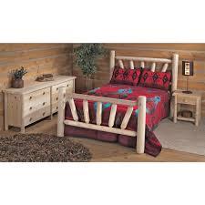Lodge Bedroom Furniture Cedar Bedroom Furniture Traditional Cedar Canopy Bedroom Set From