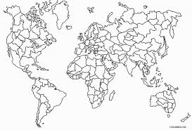 Select from 35478 printable crafts of cartoons, nature, animals, bible and many more. Printable World Map Coloring Page For Kids