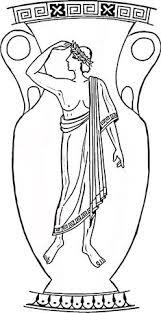 Griechische Vase Ausmalbild Mesr Decorazioni Greche Arte Greca