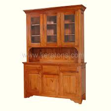 High End China Cabinets Melisa Teak China Cabinet Balikpapan Furniture Showroom Best
