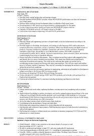 Rf Engineer Resume Rf Engineer Resume Samples Velvet Jobs 1