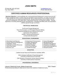 Sample Resume Hr Generalist 15 Best Human Resources Hr Resume