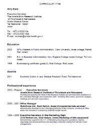 Gallery Of Secratary Resume Examples Secretary Resume Examples